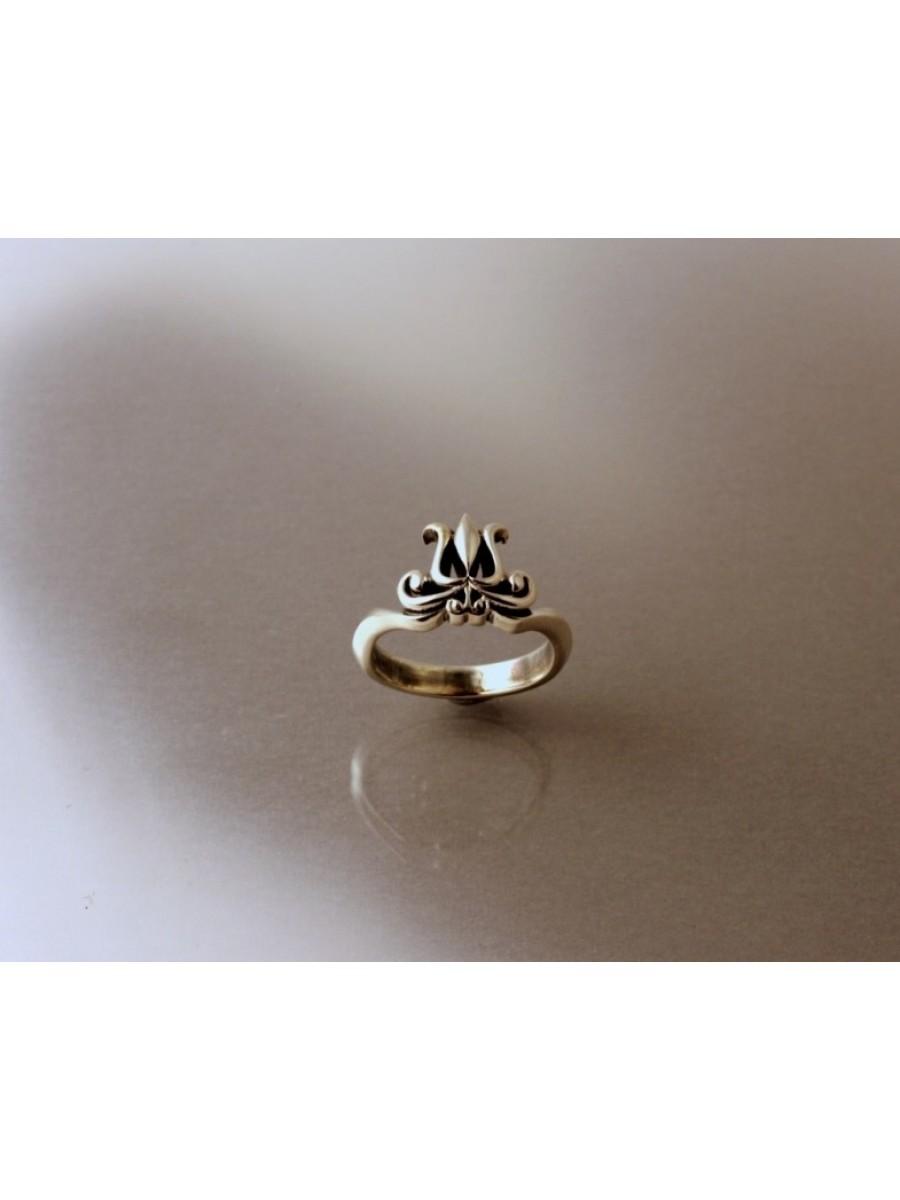 Kis székely tulipán gyűrű