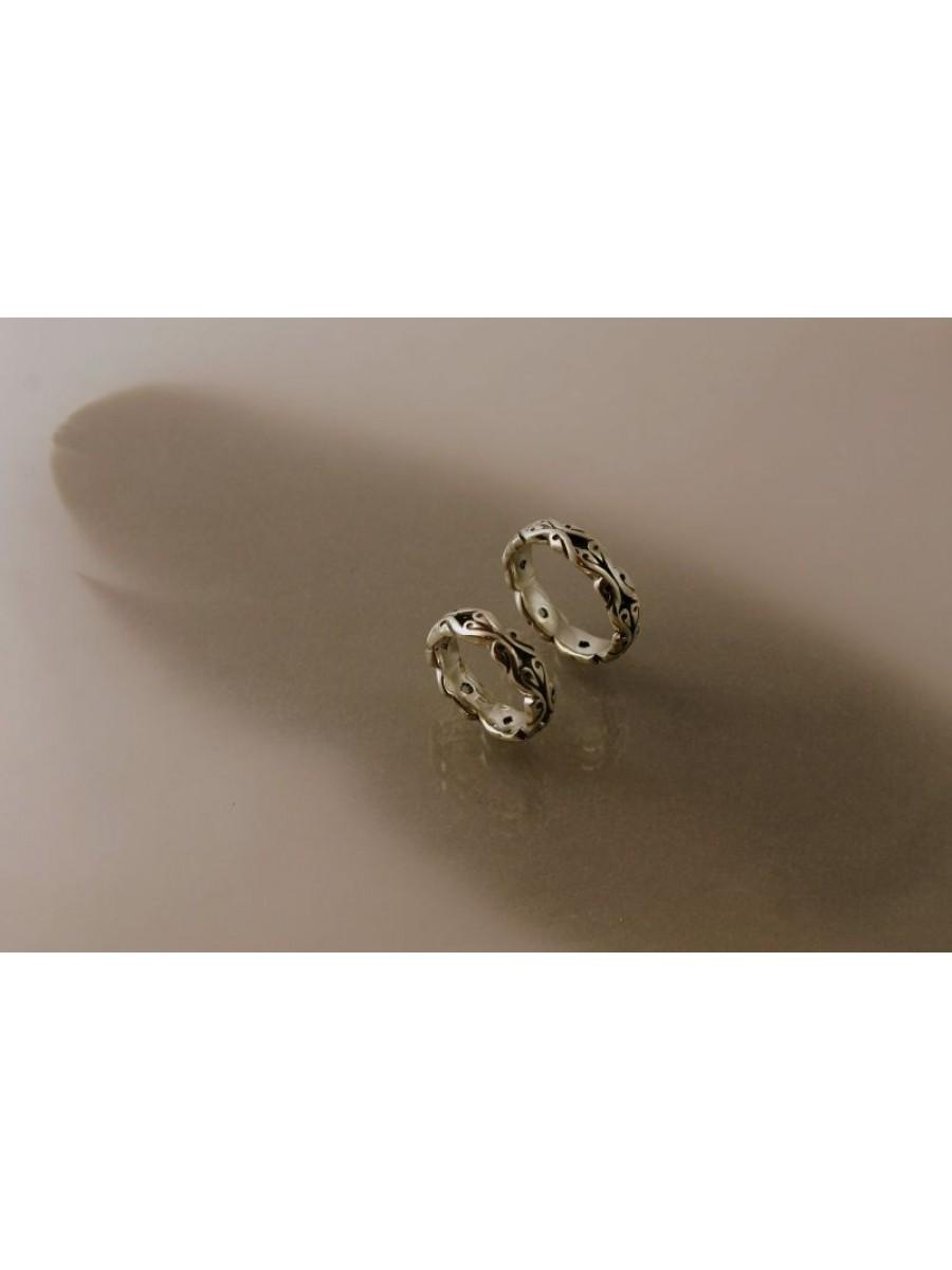 Indás karikagyűrű