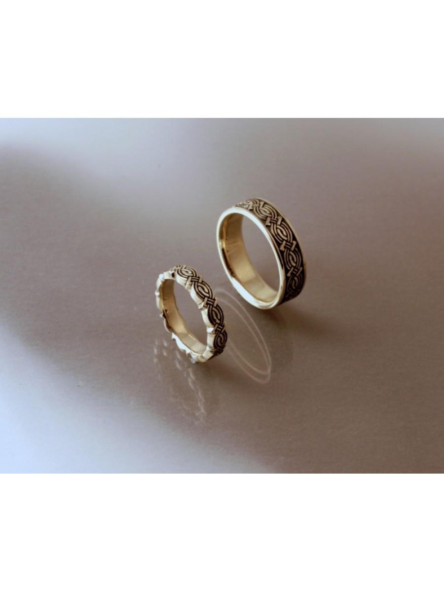 Végtelen-fonat karikagyűrű