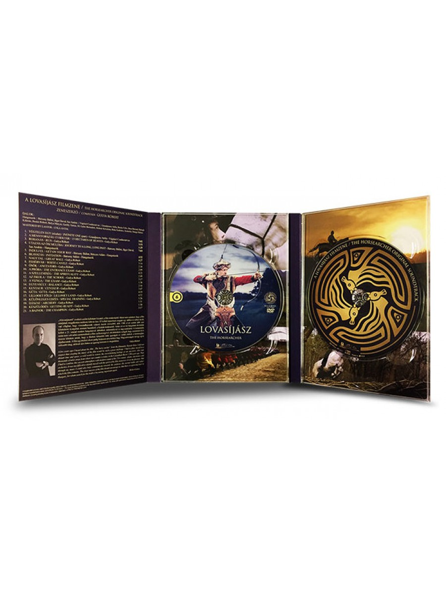 A Lovasíjász díszdobozos DVD + CD