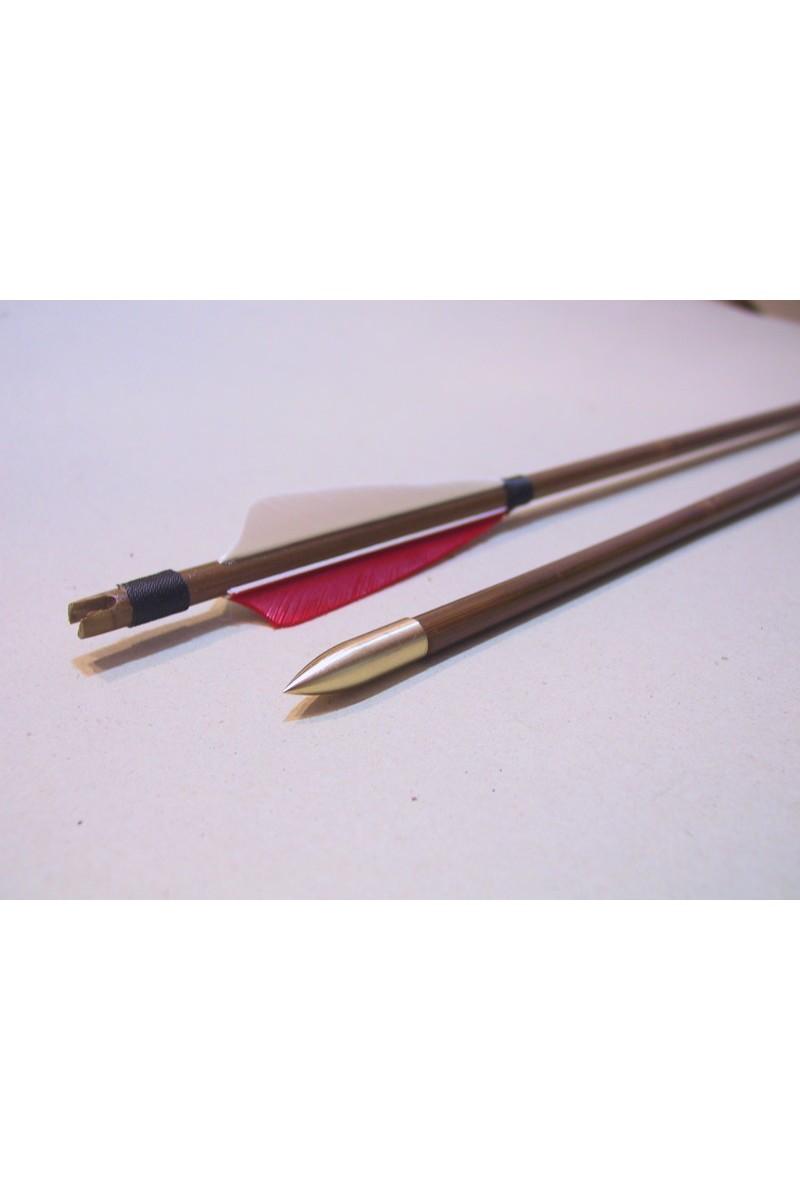 Bambusz natúr vesszők