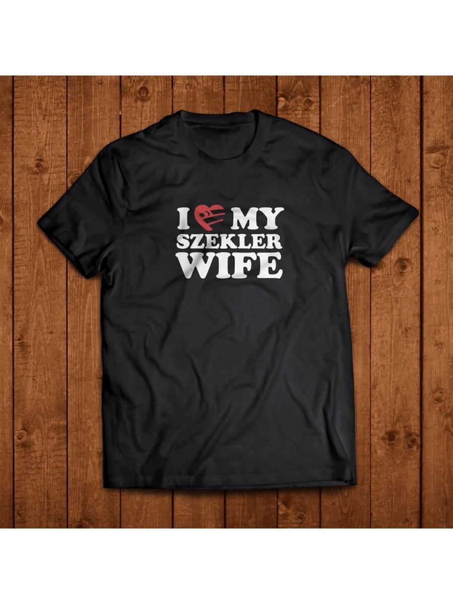Székely póló - I love my szekler wife