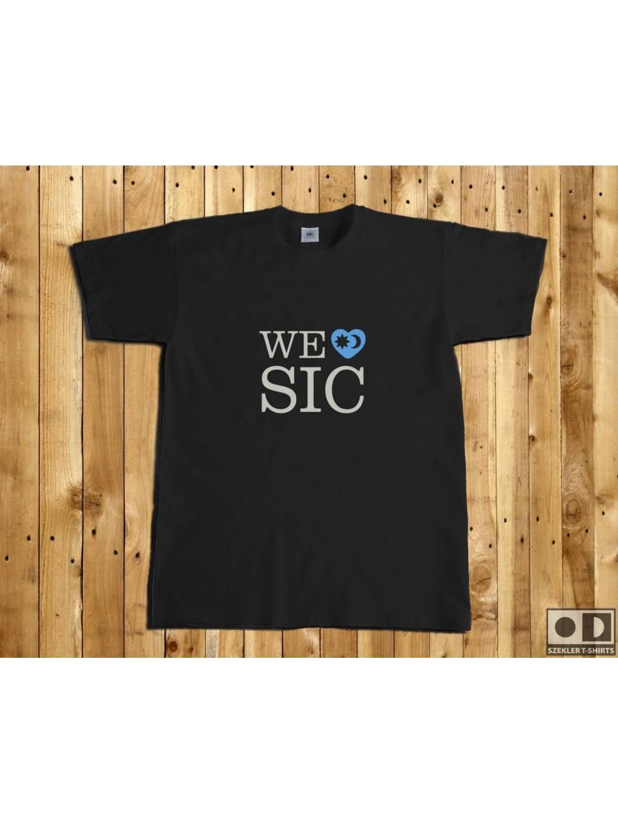 Székely póló - We love SIC